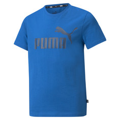 Детская футболка Essentials Logo Youth Tee Puma