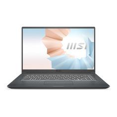 "Ноутбук MSI Modern 15 A11SBU-479XRU, 15.6"", IPS, Intel Core i5 1135G7 2.4ГГц, 8ГБ, 512ГБ SSD, Free DOS, 9S7-155266-479, серый"