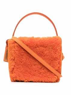 Jacquemus фактурная сумка Le seau carré