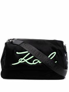 Karl Lagerfeld большой клатч K/Signature