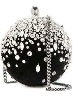 Oscar de la Renta сумка Billiard с кристаллами