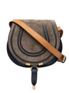 Chloé сумка через плечо Marcie в стиле колор-блок Chloe