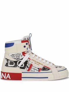 Dolce & Gabbana высокие кроссовки 2.Zero