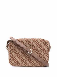 LIU JO жаккардовая сумка через плечо с логотипом