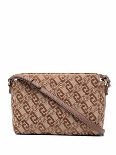 LIU JO жаккардовая сумка на плечо с логотипом