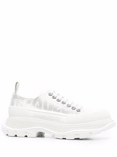 Alexander McQueen кроссовки Tread Slick с логотипом