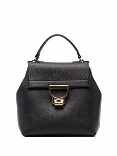 Coccinelle рюкзак из зернистой кожи