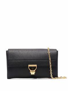Coccinelle сумка-сэтчел из зернистой кожи