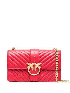 Pinko стеганая сумка через плечо Love Classic Icon