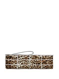 Giuseppe Zanotti клатч Myrtle с леопардовым принтом