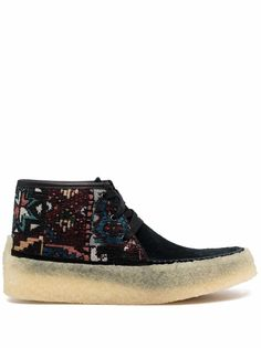 Clarks Originals ботинки с жаккардовым узором