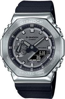 Японские наручные мужские часы Casio GM-2100-1AER. Коллекция G-Shock