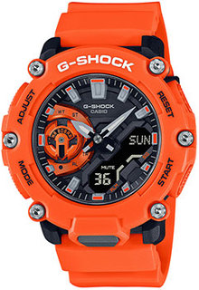 Японские наручные мужские часы Casio GA-2200M-4AER. Коллекция G-Shock