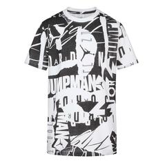 Подростковая футболка Flight All Over Printed Jordan