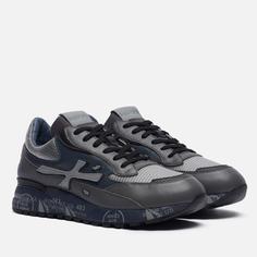 Мужские кроссовки Premiata Django 5505, цвет серый, размер 46 EU