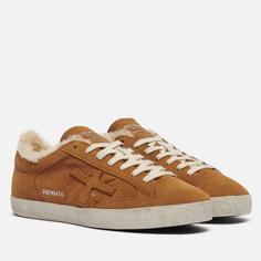 Мужские кроссовки Premiata Steven 5528, цвет коричневый, размер 41 EU