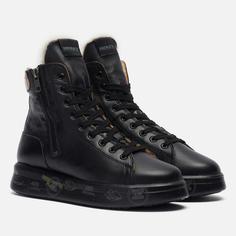 Женские кроссовки Premiata Edith 5522, цвет чёрный, размер 40 EU