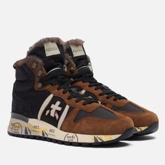 Мужские кроссовки Premiata Jeff 5510, цвет коричневый, размер 46 EU