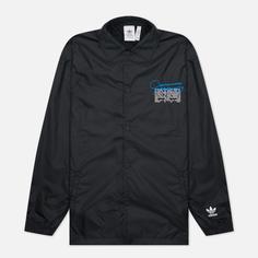 Мужская куртка adidas Originals Graphics Common Memory Pack, цвет чёрный, размер S