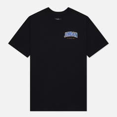 Мужская футболка Jordan Jumpman Graphic Crew, цвет чёрный, размер XXL