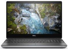 """Ноутбук Dell Precision 7550 7550-5430 i7-10850H/16GB/512GB SSD/15,6"""" UHD Antiglare/Nv Quadro T2000 4GB/Win10Pro"""