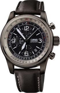 Швейцарские мужские часы в коллекции Big Crown ProPilot Мужские часы Oris 675-7648-42-64-set