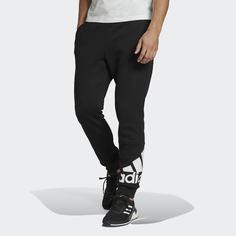 Флисовые брюки Essentials Cuff Logo adidas Sportswear
