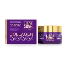 LIBREDERM Крем для уменьшения морщин и восстановления упругости ночной
