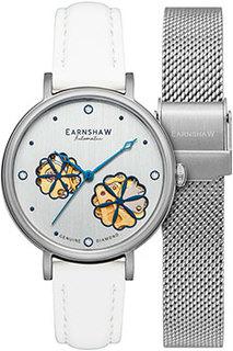 женские часы Earnshaw ES-8158-01. Коллекция Nightingale