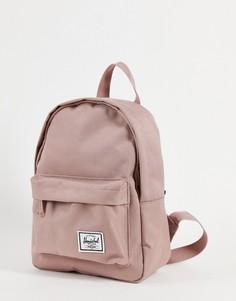 Классический миниатюрный рюкзак пепельно-розового цвета Herschel Supply Co-Розовый цвет