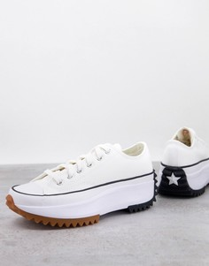 Белые кроссовки Converse Run Star Hike Ox-Белый