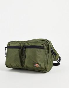 Зеленая сумка-кошелек на пояс Dickies Apple Valley-Зеленый цвет
