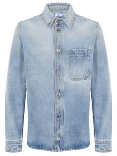 Рубашка Regular Fit джинсовая Off White