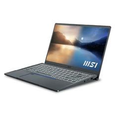 """Ноутбук MSI Prestige 14 A11SC-023RU, 14"""", IPS, Intel Core i7 1185G7 3.0ГГц, 32ГБ, 1ТБ SSD, Windows 10, 9S7-14C512-023, серый"""