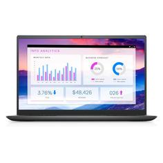 "Ноутбук Dell Vostro 5410, 14"", Intel Core i7 11370H 3.0ГГц, 8ГБ, 512ГБ SSD, NVIDIA GeForce MX450 - 2048 Мб, Windows 10, 5410-4564, серый"