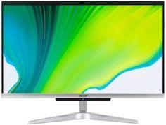 Моноблок 21,5'' Acer Aspire C22-420 DQ.BG3ER.002 3050U/4GB/1TB/FullHD/Radeon Graphics/CR/GbitEth/WiFi/BT/65W/клавиатура/мышь/Cam/Endless/серебристый