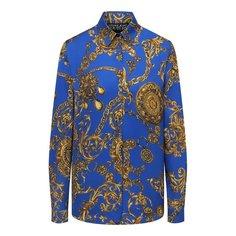 Рубашка из вискозы Versace Jeans Couture
