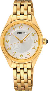 Японские наручные женские часы Seiko SUR384P1. Коллекция Conceptual Series Dress