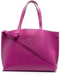 Pinko сумка-тоут с вышитым логотипом