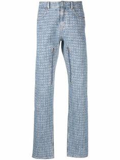 Givenchy прямые джинсы с жаккардовым логотипом 4G