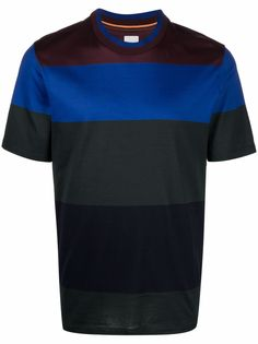 PAUL SMITH футболка в стиле колор-блок