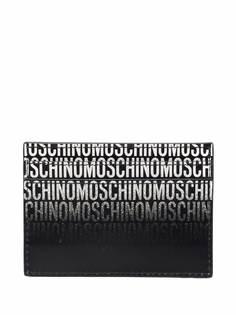 Moschino картхолдер с логотипом