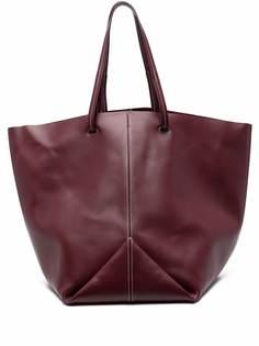 Jil Sander большая сумка-тоут