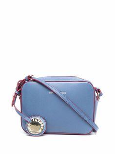 Emporio Armani сумка через плечо с тисненым логотипом