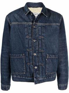 Levis джинсовая куртка с меховой подкладкой