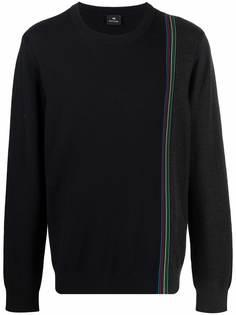 PAUL SMITH свитер с контрастными полосками