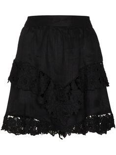 Isabel Marant Étoile мини-юбка Enali с кружевом