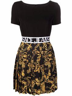 Versace Jeans Couture платье мини с принтом Regalia Baroque
