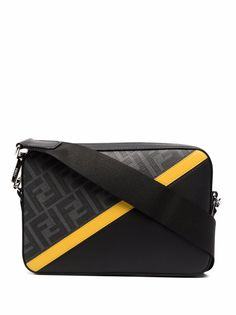 Fendi сумка-мессенджер с логотипом FF