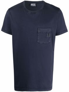 Diesel рубашка поло с логотипом